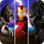 Immortal Gods Superhero Fighting Ring Arena Battle