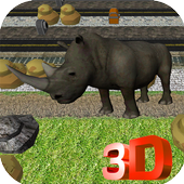 Rhinosaurus Road Crossing 1.0