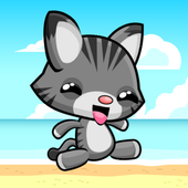 Cute Kitty Beach Adventure 4.0