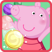 Happy Peppa bubble 1