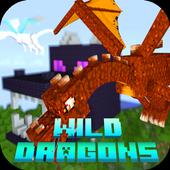 Mod Wild Dragons 2018 for MCPE 1.0
