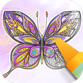 Butterflies coloring game 1.5.0