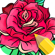 Flowers Coloring Game 1.4.6
