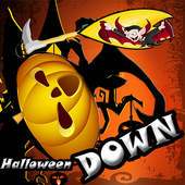 halloween games fall down free