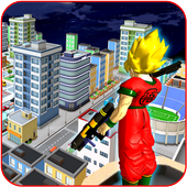 Guko Saiyan Battle: City Hero Fighting Games 1.0