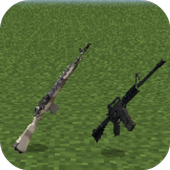 Guns MOd for MCPE 1.0