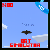 Bat Simulator Mod for MCPE 1.1