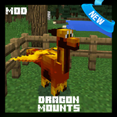 Dragon Mount Mod for MCPE 1.1