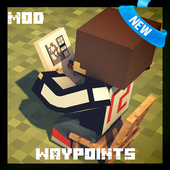 Waypoint Mod for MCPE 1.1