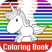 Cute Unicorn Coloring Game 1.0