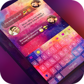 Keyboard -Boto:Colorful Galaxy 1.2.2