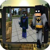 Pocket Heroes mod for MCPE 1.0