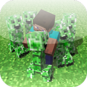 Friendly Creeper Mod for MCPE 1.0