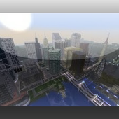 Giant City Mod for MCPE 1.0