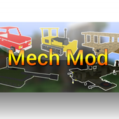 Full Mech Mod for MCPE 1.0