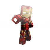 Mod Iron Man for MCPE 1.0