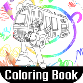 Fireman Samy Color Book Game 1.0