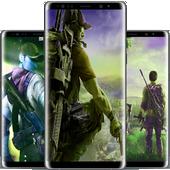 Free Fiire Wallpaper 2020 Hd 4k Lockscreen Fire 10 Apk