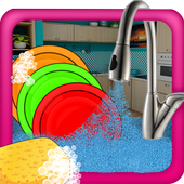 Girls Dish Washing - Cleanup 1.0