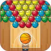 Basketball Bubble Shooter 2.7