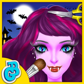 Halloween Hair Salon Kids Game 1.0