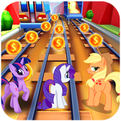 Subway Pony Run Unicorn game pony