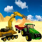 Sand Excavator Tractor  Sim 1.0