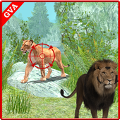 Wild Forest Lion Hunting 1.1