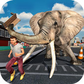 Angry Elephant City Attack 1.0