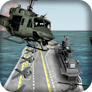 Frontline airforce shooting gunner helicopter 3d 2.9