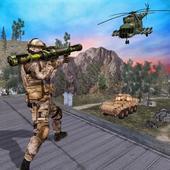 Mountain Sniper Bazooka Gun: FPS Shooting Games 02