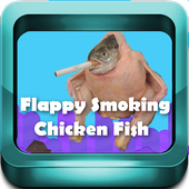 Flappy Smoking Chicken Fish 2.0