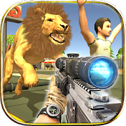 Wild Zoo Animals Hunting City 1.01
