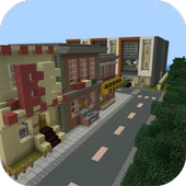 Ghost City Mod for MCPE 1.0