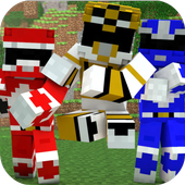 Mod Power Rangers for MCPE 1.0