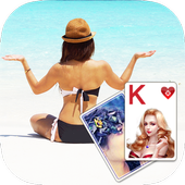 Solitaire Beach Yoga Theme 2.418