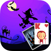 Solitaire HalloweenParty Theme 1.9