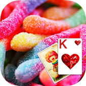 Solitaire Sweet Candy Theme 1.9