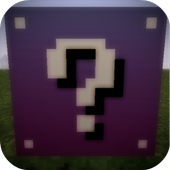 Lucky Purple Block for MCPE 1.0