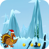 Turkey Christmas Running Games 1.0