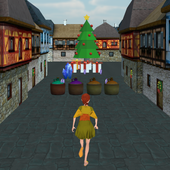 Princess Run Christmas Road
