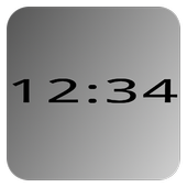 Mono Clock Widget Lite 1.3