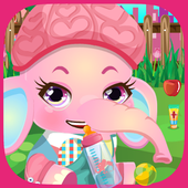 Baby Elephant Care Kids Game 3.0
