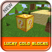 Lucky Gold Block Mod Minecraft 1.0