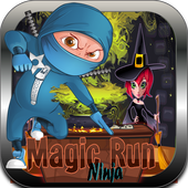 Ninja heroes-Black magic run 1.0.0