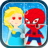 Superhero & Princess Kids Game 2.2