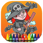 Halloween Coloring Book Games 1.0.1