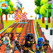 Subway Lego Ninjao Adventure Run 1.1