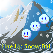 Line Up Snow Ball 1.0.1
