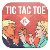 Trump Vs Hillary Tic Tac toe 1.0